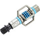 Crankbrothers Eggbeater 3 Pedals silver/electric blue